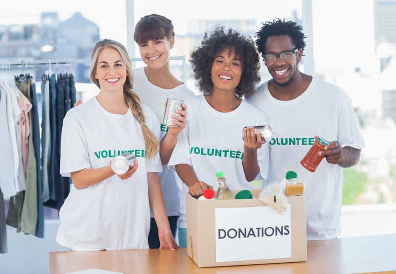 charity workers